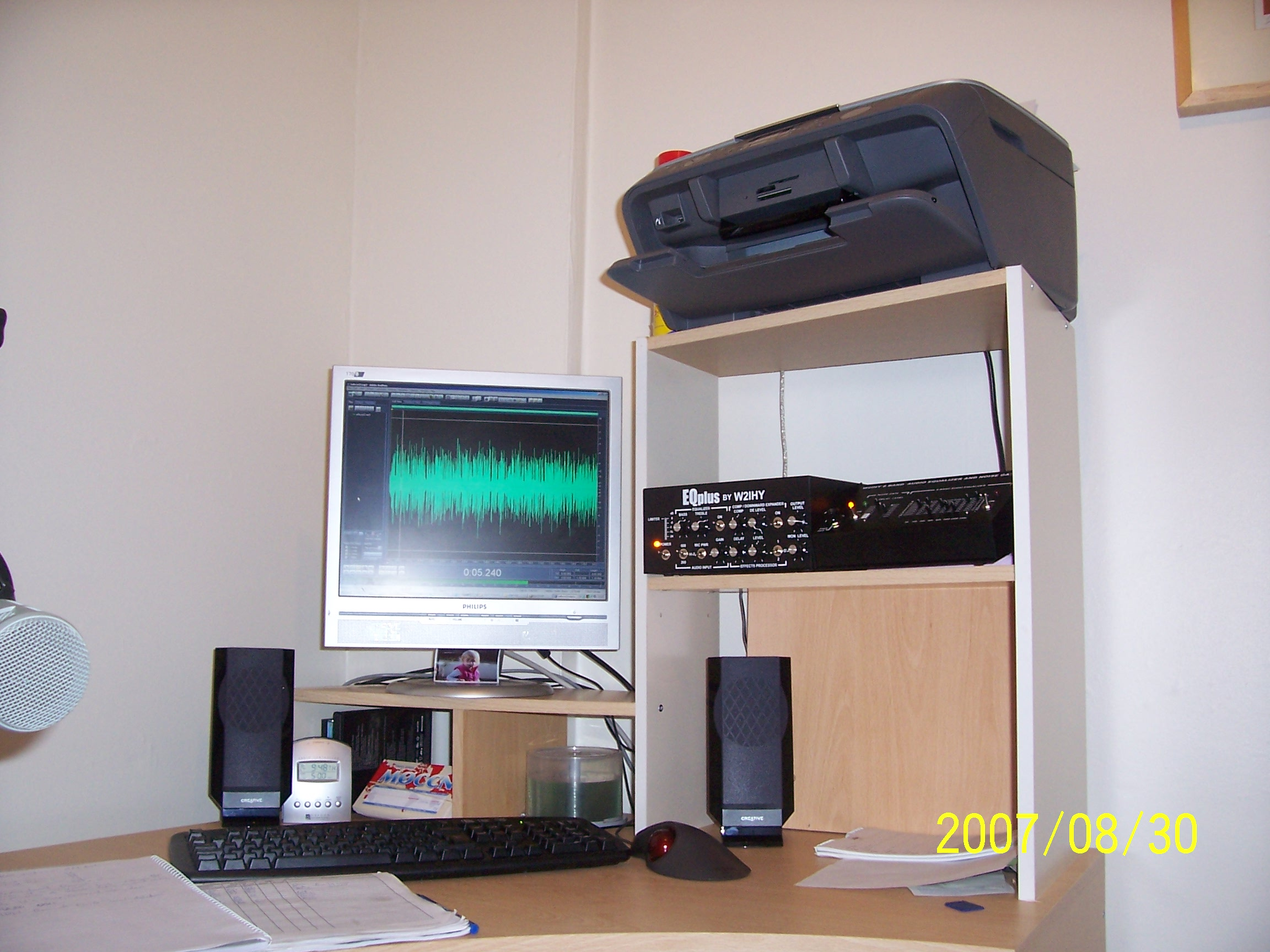 Audio Monitorin position of M0CCN!